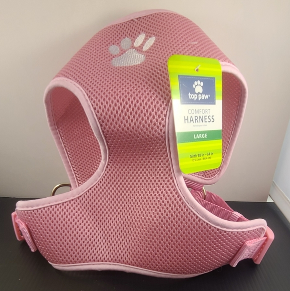 Top Paw pink harness
